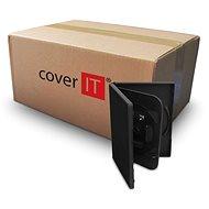 COVER IT Box: 4 DVD 19 mm schwarz - Karton 100 Stück - CD/DVD-Hülle