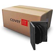 COVER IT Box: 8 DVD 27 mm schwarz - Karton 50 Stück - CD/DVD-Hülle