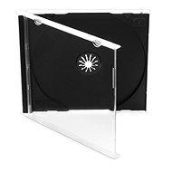 Box für 1 Stück - schwarz, 10mm, 10er Pack - CD-Hülle