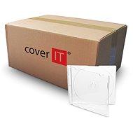 Schlanke Box für CD, transparent, 5,2 mm - CD-Hülle