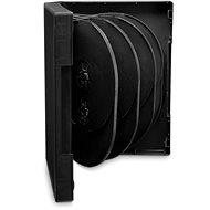 DVD-Cover für 10 Stück - schwarz, 33mm, 5er Pack - DVD-Hülle