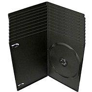 Krabička slimULTRA na 1ks - černá, 7mm, 10pack - DVD-Hülle