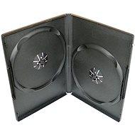 SlimULTRA Box für 2 Stück - schwarz, 7mm - DVD-Hülle