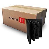 Box mit 6 Stück - schwarz, 24mm - DVD-Hülle