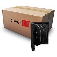 COVER IT Box: 10 DVD 33 mm schwarz - 50 Stück Packung - CD/DVD-Hülle