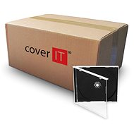 COVER IT 1 CD 10mm jewel box + tray - Karton 200 St - CD/DVD-Hülle