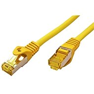 OEM S/FTP Patchkabel Cat 7, mit RJ45-Anschlüssen, LSOH, 3m, gelb - Netzkabel