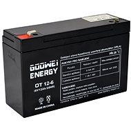 GOOWEI ENERGY OT12-6, 6V, 12Ah - Akku