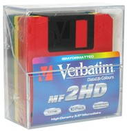 "Verbatim DataLife COLOUR 3.5""/1.44MB, pack of 10pcs - Floppy Disk"