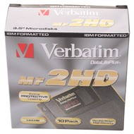 "Verbatim DataLife PLUS 3.5""/1.44MB - Floppy Disk"
