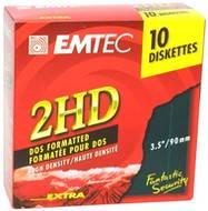 """Disketa EMTEC Fantastic Security 2HD 3.5""""/1.44MB, balení 10ks"""