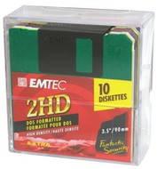 "Disketa EMTEC Fantastic Security Rainbow 2HD 3.5""/1.44MB, balení 10ks"