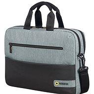 "American Tourister CITY DRIFT LAPTOP BAG 15,6"" SCHWARZ / GRAU - Laptop-Tasche"