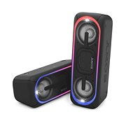Sony SRS-XB40, schwarz - Bluetooth-Lautsprecher