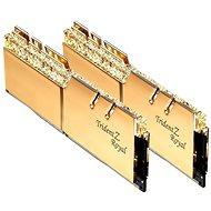 G.SKILL 16GB KIT DDR3 3200MHz CL16 Trident Z Royal RGB Gold - Arbeitsspeicher
