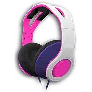 Gioteck TX30 weiß-rosa - Gaming Kopfhörer