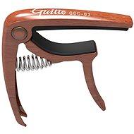 GUITTO GGC-03 Metal Capo Wood - Kapodastr