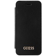 Guess Iridescent Book für Apple iPhone X Black - Handyhülle