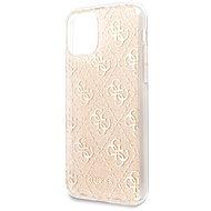 Guess, 4G Glitter Back Cover für iPhone 11 Gold - Handyhülle