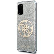 Guess, 4G Glitter Circle Cover für Samsung Galaxy S20 + Grau - Handyhülle