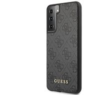 Handyhülle Guess 4G Backcover für Samsung Galaxy S21+ - grau - Kryt na mobil