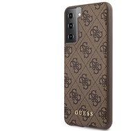 Handyhülle Guess 4G Backcover für Samsung Galaxy S21+ - braun - Kryt na mobil