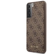 Handyhülle Guess 4G Backcover für Samsung Galaxy S21 - braun - Kryt na mobil