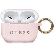 Guess, Silikonhülle für Airpods Pro Light Pink - Kopfhörerhülle