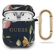Guess Silikonhülle für Apple Airpods 1/2 Floral N.3 - Kopfhörerhülle
