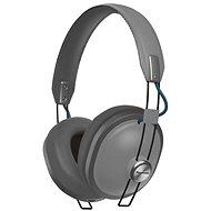 Panasonic RP-HTX80B - Grau - Kopfhörer mit Mikrofon