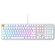 Glorious GMMK Full Ice White Ice Edition - Gateron-Braun, USA, weiß - Gaming-Tastatur