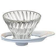 Hario Dripper aus Glas für Kaffee V60-01 - Filter-Kafeemaschine