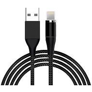 Hishell 4in1 Magnetic Data & Charging Cable (2 x USB-C + Lightning + Micro USB) - schwarz - Datenkabel