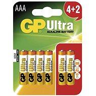 GP Ultra Batterien LR03 (AAA) 4 + 2 Stück in Sichtverpackung - Batterie