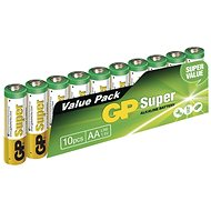 GP Super-LR6 (AA) 10 Stück im Blister - Einwegbatterie