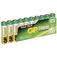 GP Super-LR03 (1,5 V), 10 Stück im Blister - Einwegbatterie