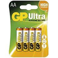 Einwegbatterie GP Ultra Alkaline LR6 (AA) 4 Stück im Blister
