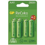 GP ReCyko 2700 AA (HR6) - 6 Stück - Akku