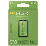 GP ReCyko 200 (9V), 1 Stck - Akku
