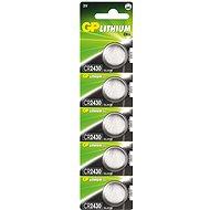 Knopfzellen GP CR2430 5 Stück - Batterie