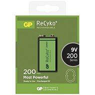 GP ReCyko 9V 200mAh, Ni-MH, 1 Stück - Ladebatterie