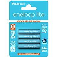 Panasonic eneloop lite AAA 550mAh 4 Stück - Ladebatterie