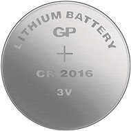 GP Lithium-Knopfzelle GP CR2016 - Knopfbatterie
