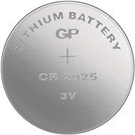 GP Lithium-Knopfzelle GP CR2025 - Knopfbatterie