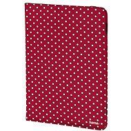 Hama Polka Dot - rot mit weißen Punkten - Tablet-Hülle