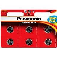 Panasonic CR2032 6 Stück im Blister - Batterie