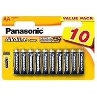 Panasonic AA LR6 Alkaline Strom 10 Stk. - Batterie