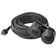 Verlängerungskabel EMOS Gummi Verlängerungskabel 15m schwarz - Prodlužovací kabel