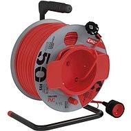 EMOS PVC-Verlängerungskabel auf einer Trommel - Kupplung, 50 m, 1,5 mm2 - Verlängerungskabel