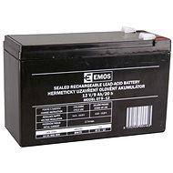 EMOS Wartungsfreie Blei-Säure Batterie 12 V/9 Ah, 6,3 mm Faston-Klemme - Akku